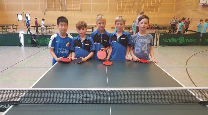 Im Tischtennis die beste Grundschule Hamburgs!