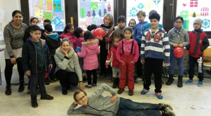 Spendenaktion und Besuch der ZEA