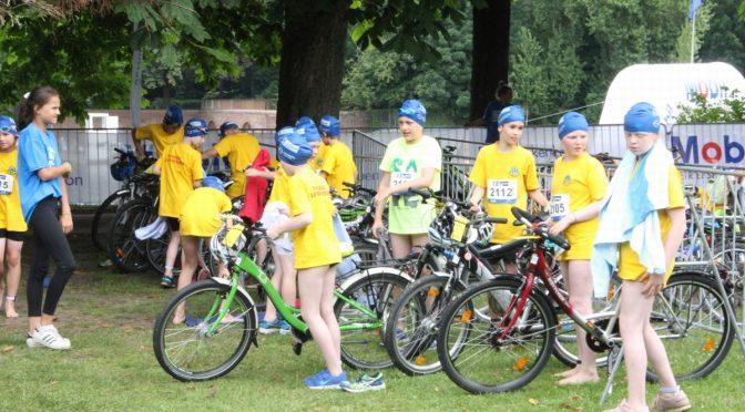 Triathlon am 29.06.17 im Stadtpark