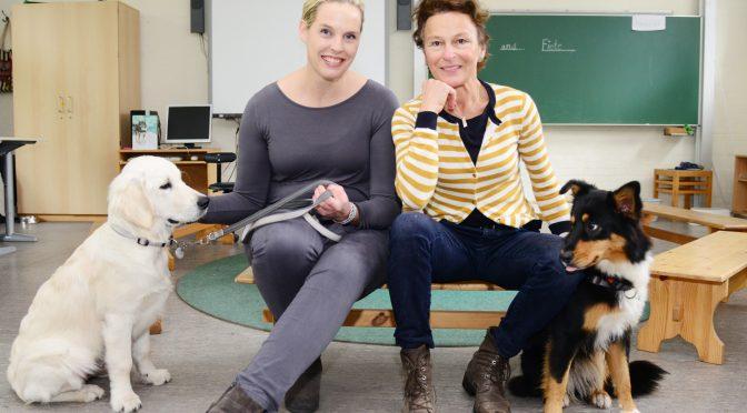 Schulhunde am Alsterredder