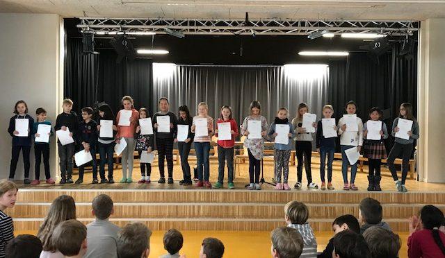 Schreibwettbewerb KLASSEnSÄTZE 2019