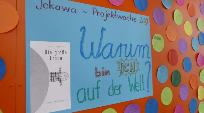 Jekawa-Projektwoche – ein philosophischer Auftakt für die ganze Schule