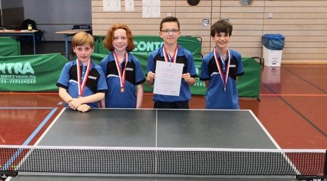 Schulmeisterschaften Jugend trainiert für Olympia Tischtennis