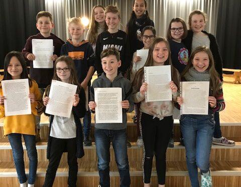 Schreibwettbewerb KLASSEnSÄTZE 2020