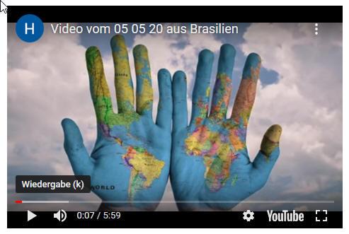 Videogruß und Rundbrief aus Brasilien