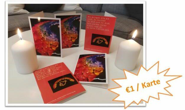 Lichterfest-Grußkarten